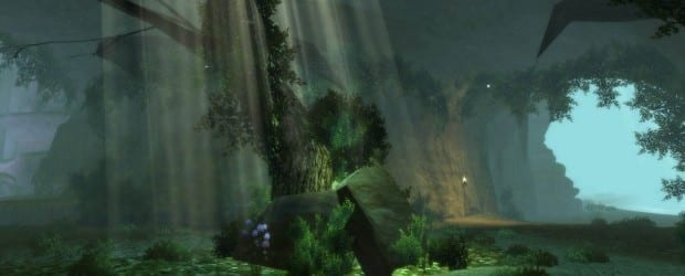 xpack landscape undivination 05 First Look at the Mystical Forest Cavern in Dungeons & Dragons Online