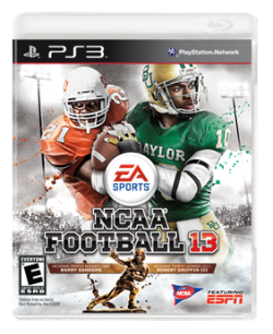 NCAA2 Barry Sanders Will Share NCAA Football 13 Cover with Robert Griffin III