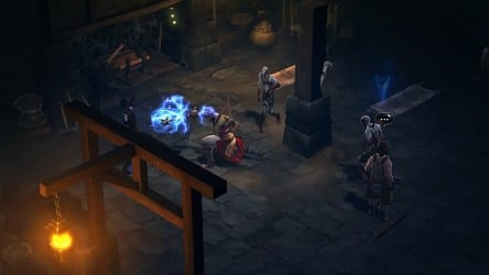 monk shows a zombie his weapon large Diablo III Open Beta Weekend Now Live