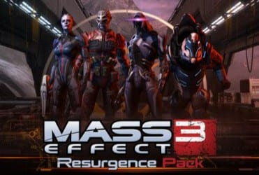 resurgence pack Mass Effect 3: Resurgence Pack DLC Announced