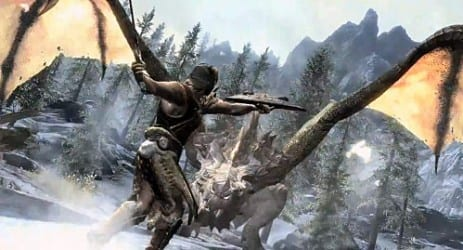 skyrim3 Kinect Support is Coming to Skyrim
