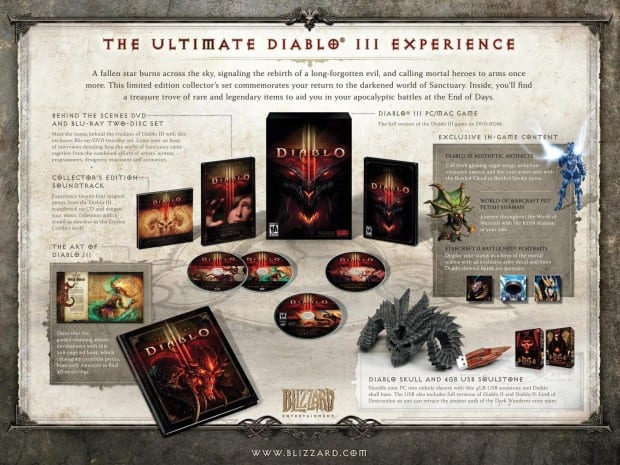 Diablo iii collectors edition Win the Diablo III Collectors Edition from Gaming Trend!