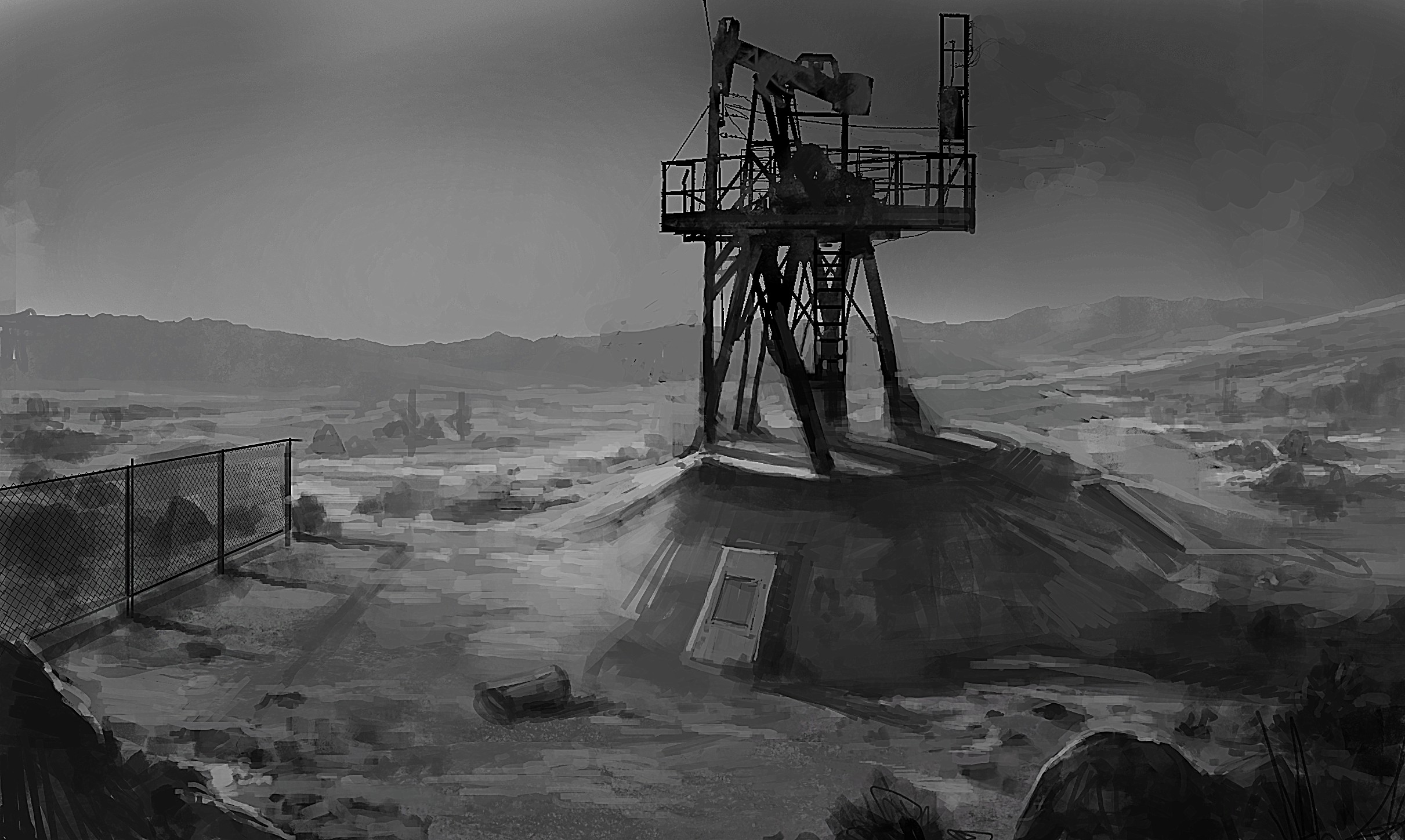 Alan Wake's American Nightmare Concept Art