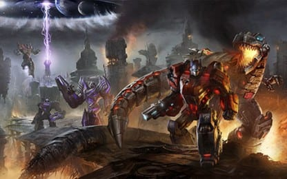 trans Meet the Dinobots in the Latest Transformers: Fall of Cybertron Trailer