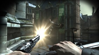Dishonored_Pistol_Shot_Over_Rooftops