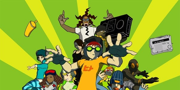 Jet Set Radio Jet Set Radio Track List and Video