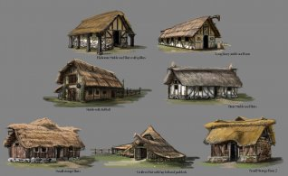 LOTRO_Riders_of_Rohan_Granary_Huts_Barns_small_stables_2