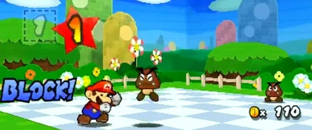 Paper Mario Sticker Star E3 Demo Two 3DS Mario Titles Demoed Today at E3