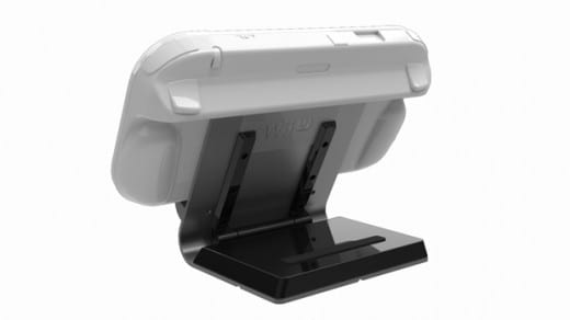 Wii U Tablet Dock White Background Rear 3 4 Tablet Mad Catz Has Your Wii U Accessories Covered (literally)