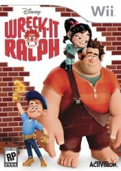 WreckItRalph WiiBoxFront Wreck It Ralph for Wii, DS and 3DS: The Game Based on The Movie Based on Video Games