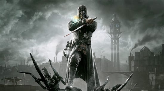dishonored logo Dishonored   Same mission, two videos