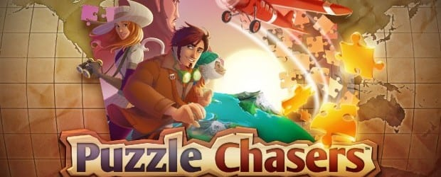 puzzle chasers key art Chase mystery and romance on Facebook with Puzzle Chasers