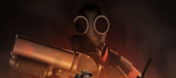 pyro1 Team Fortress 2 Up In Flames! Meet the Pyro This Wesnesday