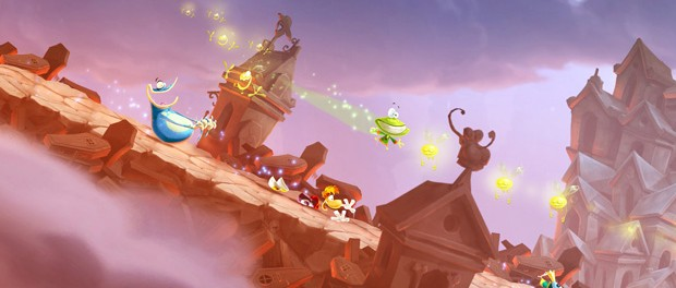 Rayman Legends Features The Same 2d Hand Drawn Visuals