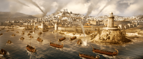 26751TW Rome II Naval invasion Total War: Rome II Announced, Due for 2013 Release