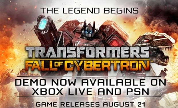 74 Roll out!  Transformers: Fall of Cybertron demo out now
