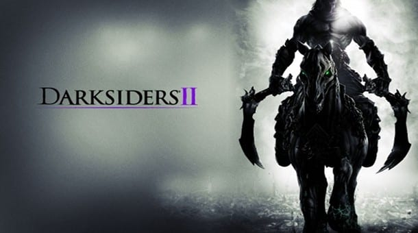 Darksiders 2 logo Darksiders II gets an all gameplay trailer