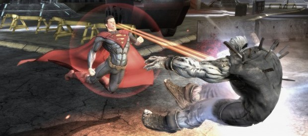 Injustice Gods Among Us  3 620x348 Super heroes smash up    Injustice: Gods Among Us E3 Preview
