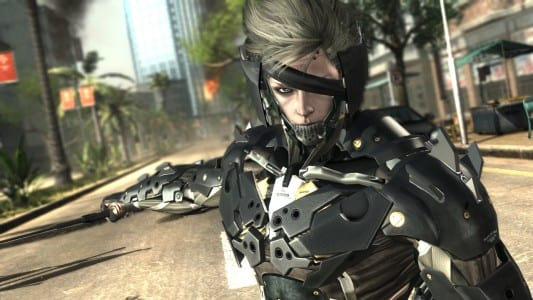 Metal Gear Rising Raiden New Metal Gear Solid: Rising screens