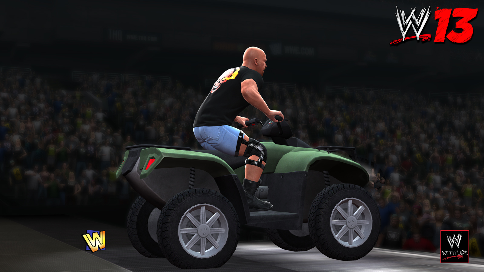 WWE 13 - CE Features Steve Austin 01