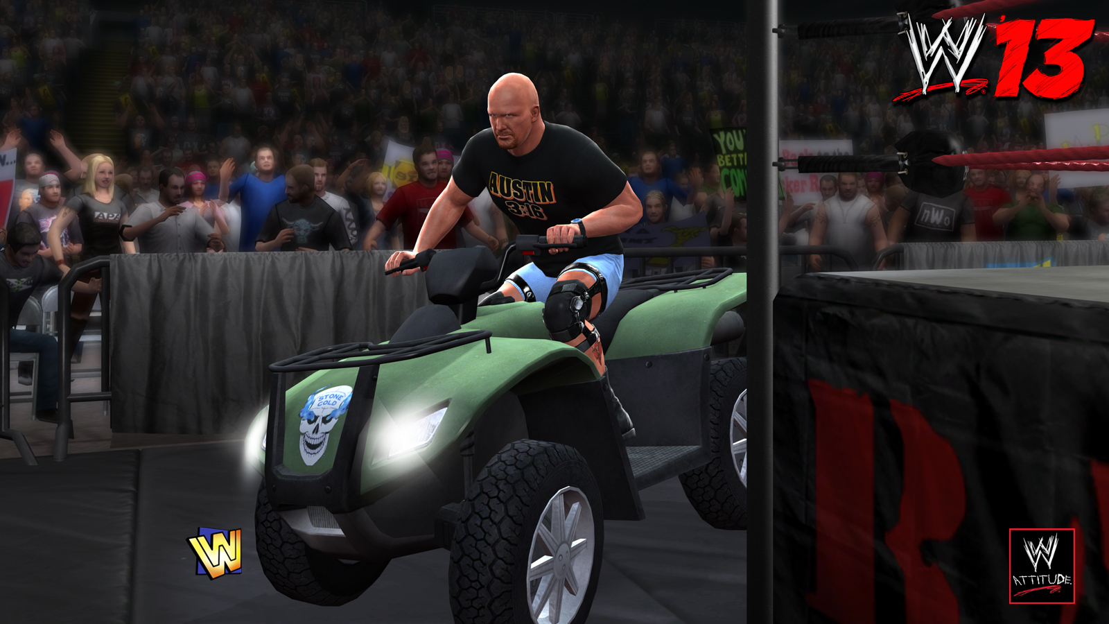 WWE 13 - CE Features Steve Austin 02