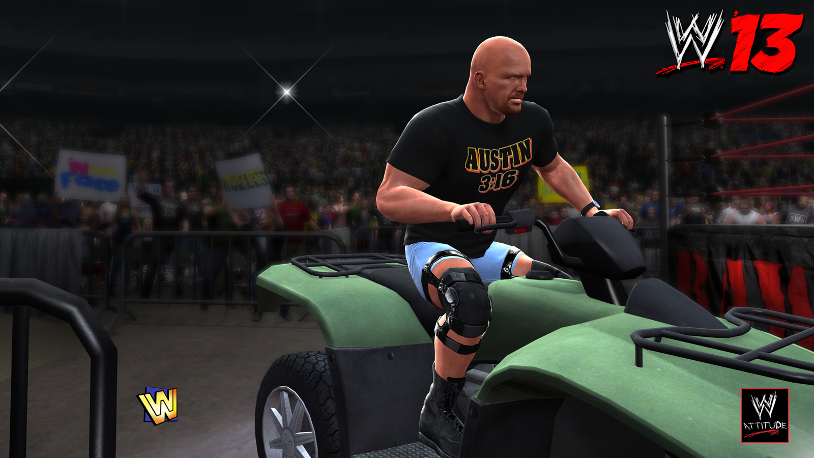 WWE 13 - CE Features Steve Austin 03