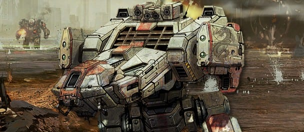 mech Become Environmentally Aware in this MechWarrior Online Trailer