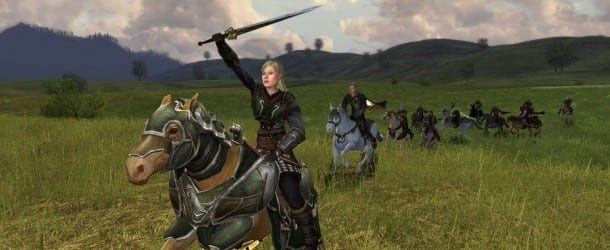 rohan region War Steeds Are Riding in Lord of the Rings Online