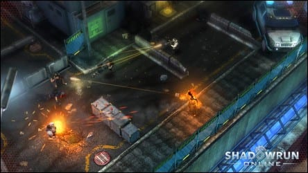 Shadowrun Online Going With Guild Wars Model: No Monthly Fees