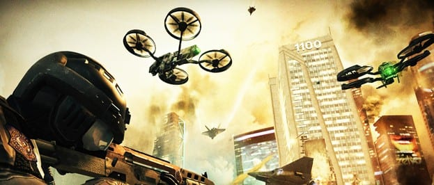 BlackOps2 Watch for Drone Bombers In New Black Ops II Screens from Gamescom