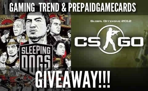 Contest Sleeping Dogs / Counter Strike GO Giveaway!