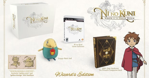 Wizard Edition Namco Extends Pre order Deadline for Ni no Kuni: Wrath of the White Witch: Wizard Edition, Now Comes With Soundtrack. Go Get It!