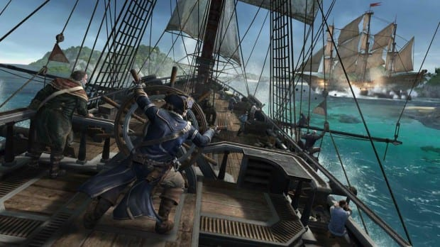 ac3 ship battle Take to the Seas in the Assassins Creed 3 Naval Gameplay Trailer