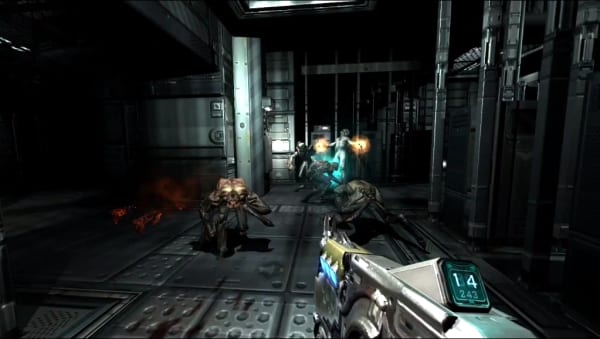 doom3 bfg DOOM 3 BFG Edition Lost Mission Trailer
