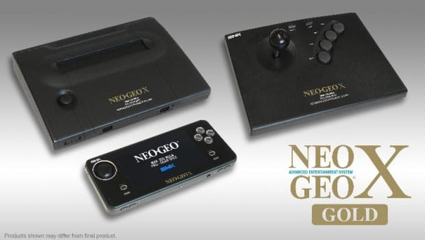 snk SNK Playmore Announces NeoGeo X Gold