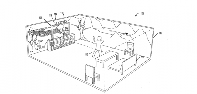 Picture 1 Microsoft Patents 360 Degree Gaming Plans