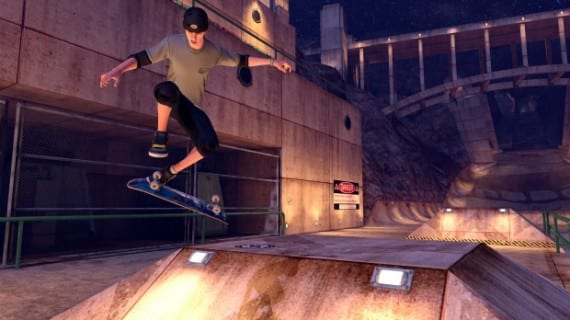 THPS HD PC Tony Downhill 02 620x3482 Tony Hawk Pro Skater HD brings retro skating action to PC, out now.