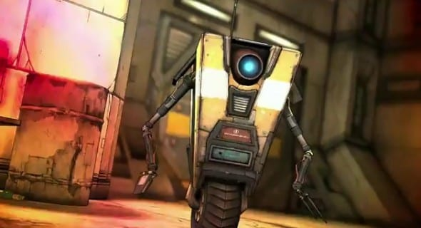 news borderlands2 claptrap Borderlands 2 dances to shelves
