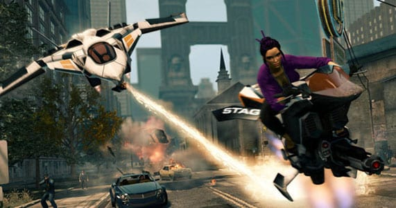 saints row the third screen Rediscover Stilwater with Saints Row: The Third   The Full Package