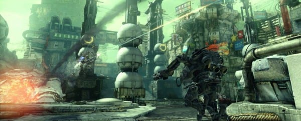 Hawken Screenshot 17 Hawken Mixes FPS Gameplay with League of Legends Style Unlocks, Meta Game