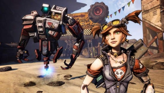 Mechromancer Gaige Borderlands 2 Mechromancer Trailer Released Today, New Campaign DLC Tomorrow
