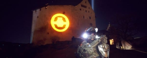 Xbox 360 transforms Liechtensteins iconic Balzers Castle 2 Microsoft celebrates Halo 4 launch by invading a small European nation.