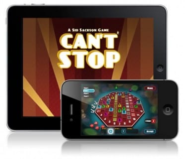 devices cantstop Cant Stop this iOS Release