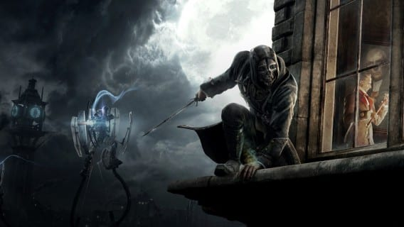 dishonored We sneak up behind Dishonored on the PC