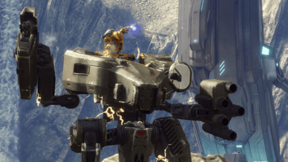 halo 4 ragnarok and mantis 343 Industries Reveals a New Way to Kill Streak with the Mantis Vehicle