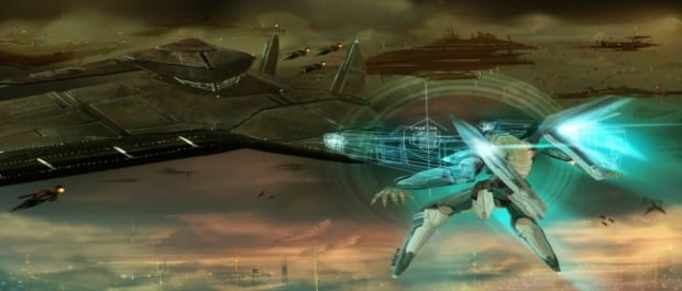 large Zone of the Enders HD Collection Released