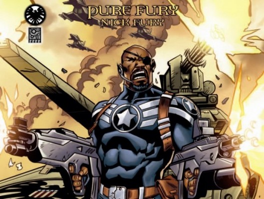 2012 Marvel Legendary Deck Building Game Nick Fury Pure Fury 293x400 Become Legendary next week with the Marvel deck building game