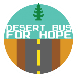Desert Bus logo Desert Bus for Hope 2012
