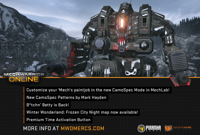MechWarrior Online Camo Patch - 02