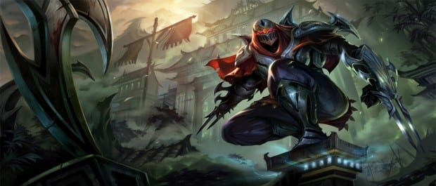 Zed Meet LoLs New Champion: Zed, The Master of Shadows